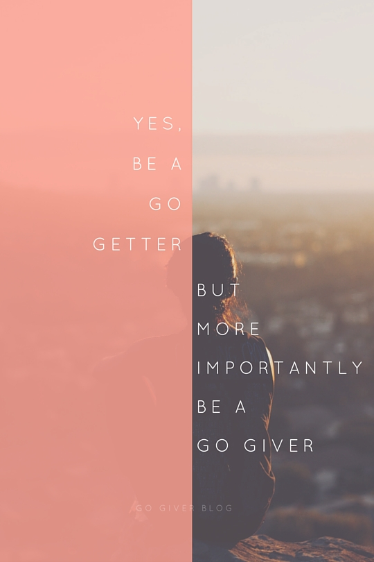 Yes,Be a go getter (1)